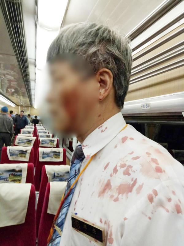 過分!列車長跨年夜遭醉漢<b>酒瓶</b>砸頭濺血 台鐵怒喊告
