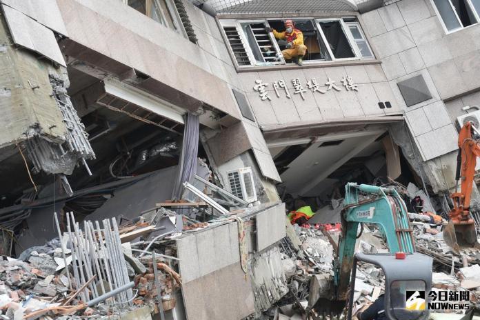 花蓮地震 找到加籍香港夫妻 下半身完整腿浮腫