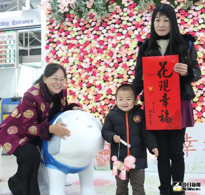 <b>斗六火車站</b>大型花牆完成  公所要讓返鄉遊子花現幸福