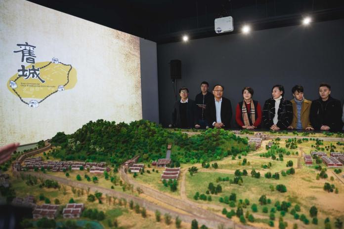▲見城館模型展演先睹為快。(圖/高市文化局提供,2018.02.05)