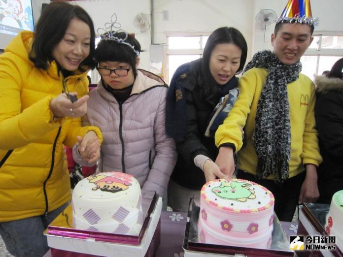 今日暖新聞》每月贈15個蛋糕 <b>麥仕佳</b>為喜樂憨兒慶生