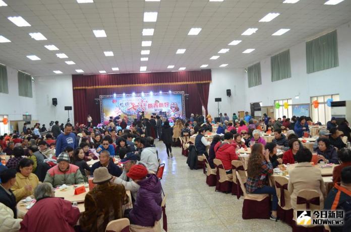 500人嘗鮮比讚 台南七股七寶尾牙宴熱鬧登場