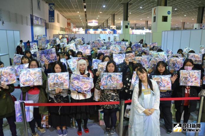 【TiCA18】國人漫畫家林青慧老師 古裝現身簽名會
