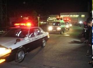 ▲日本警視廳出動警車,進行地毯式搜索。(圖/日本警視廳)