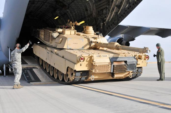 ▲美國陸軍M1A2戰車。(圖/美國陸軍 )