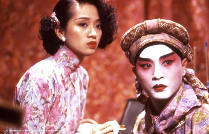 ▲《胭脂扣》由梅艷芳(左)、張國榮主演。(圖/雄影,2018.03.13)