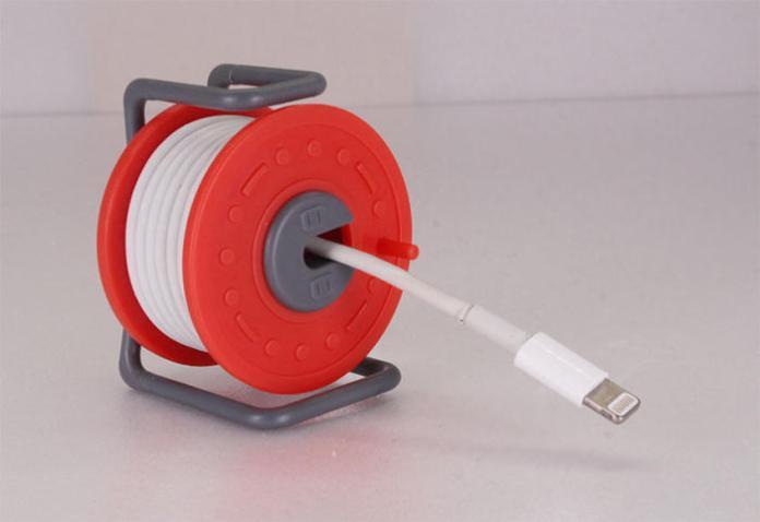 超可愛迷你捲線器 從此<b>充電線</b>不再打結