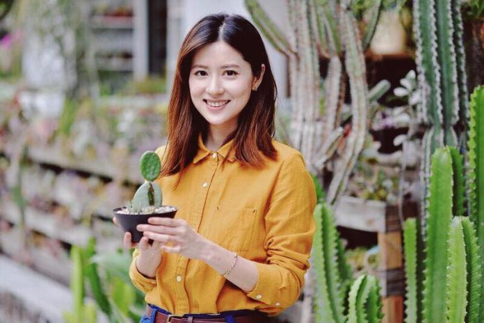 ▲林予晞在臉書上分享在台北車站遇到的狀況,網友讚她好善良。(圖/翻攝 林予晞臉書, 2018.03.27)