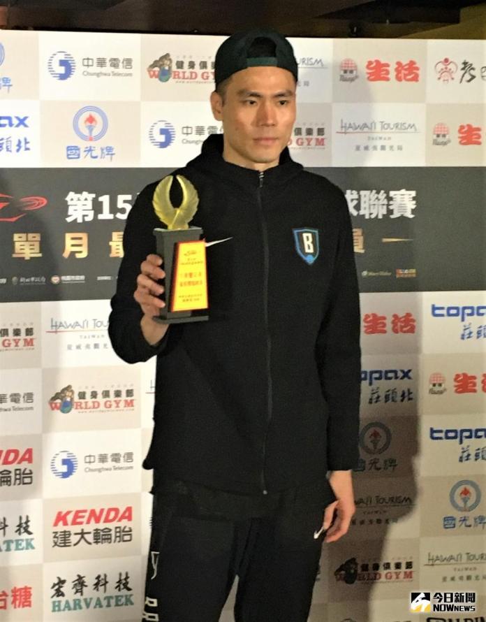 SBL/衝刺季後賽 張宗憲、夏普分別獲選單月MVP