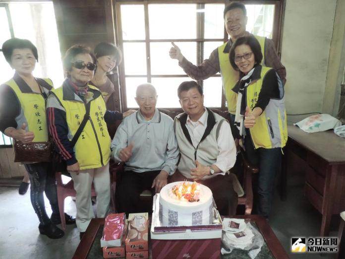 影/彰化榮服處慶祝 八二三榮民102歲壽辰
