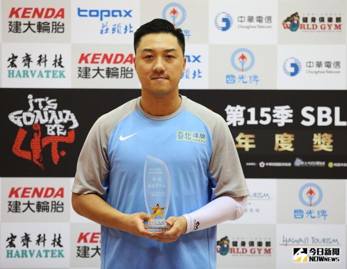 SBL/生涯末期首度榮獲最佳第六人 <b>林冠綸</b>:老將價值