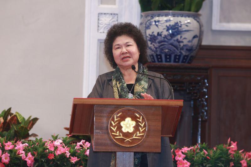 1070411 蔡英文總統主持「總統府茶會」(正式宣布陳菊為府秘書長