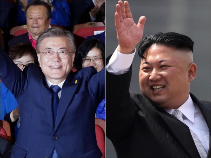 ▲根據韓國官方消息,南北韓已恢復中斷多日的通信聯絡渠道,是2國領導人協商努力的結果。資料照合成圖。(圖/達志影像/美聯社)