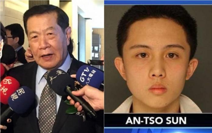 孫安佐涉威脅校園遭逮 李昌鈺:定罪關鍵在「有無意圖」
