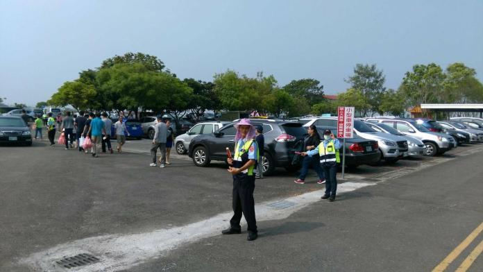 清明連假收假車流湧現 台南市警察局出動快打部隊
