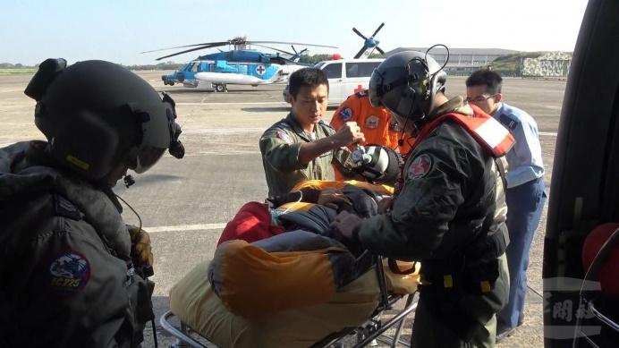 空軍救護隊提供