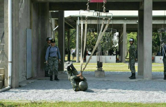 陸軍特戰指揮部提供