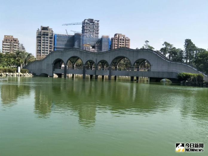 中市<b>豐樂公園</b>水池 將大規模清淤改善水質