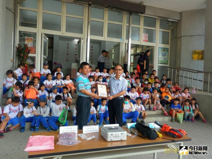 180名小朋友<b>戶外教學</b> 首次參訪北港警分局