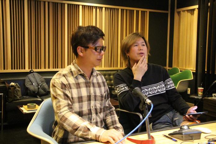 ▲王俊傑與董事長樂團主唱吉董分享兩人相處趣事。(圖/這虎音樂工作室提供