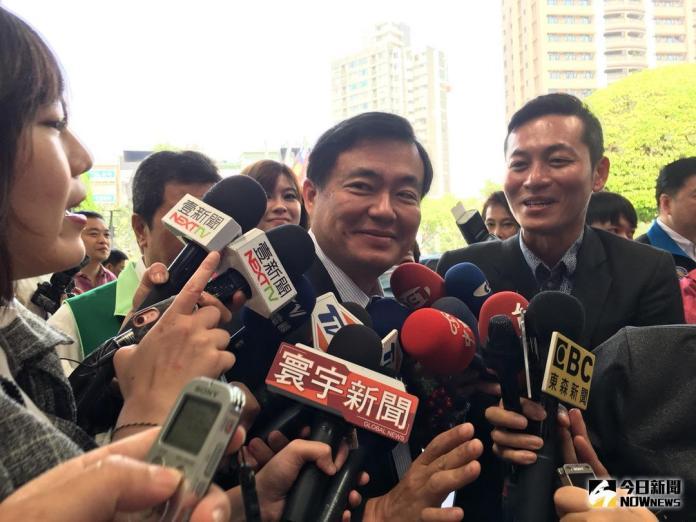 ▲民進黨祕書長洪耀福表示,丁守中現在一副驕傲心態,將重蹈他的悲劇命運。(資料照/記者陳志仁攝)