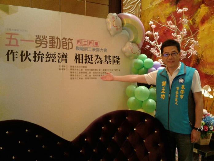 ▲謝立功強調,台灣工時過長、工資過低、過勞問題嚴重,正是台灣經濟發展無法更上層樓的關鍵因素!(圖/謝立功辦公室提供