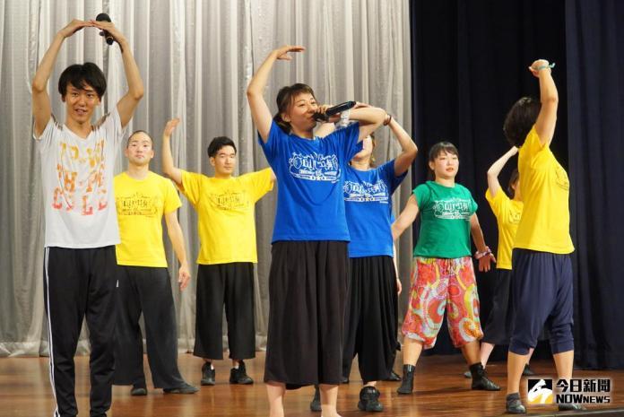 ▲日本「COMMON_BEAT」公益巡演,在台灣大葉大學登場,帶給大家一場國際文化饗宴。(圖/記者陳雅芳攝,2018.05.02)