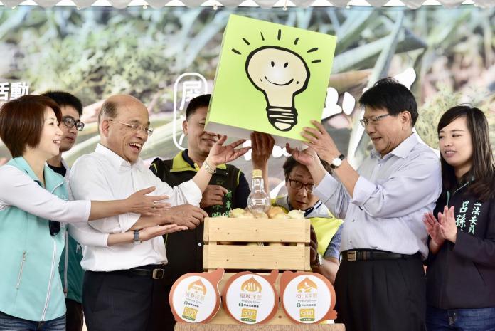 國民黨高喊新北團結 蘇貞昌:後面都有不團結的因素