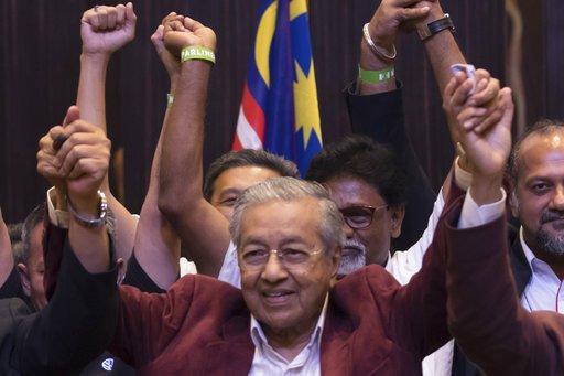 扳倒60年執政黨 92歲前首相讓馬來西亞首度變天