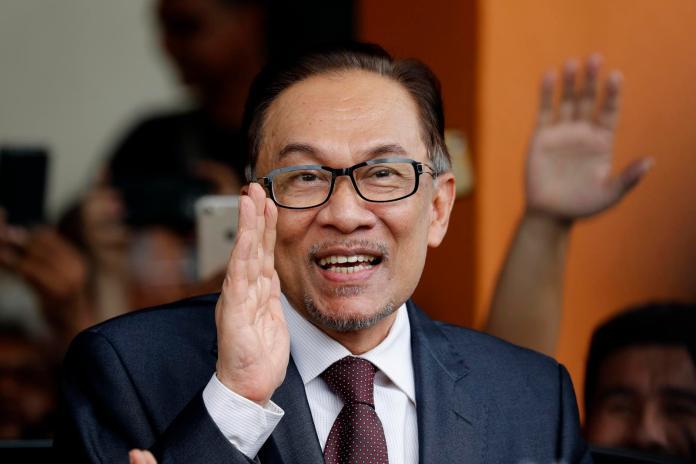 ▲馬來西亞國會反對黨領袖安華(Anwar Ibrahim)(圖/達志影像/美聯社)