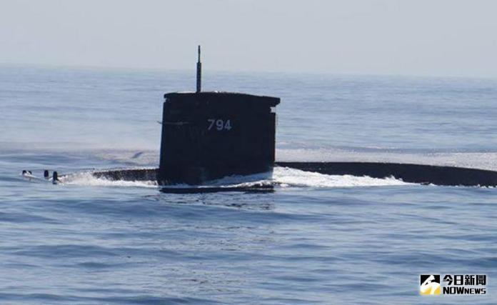 ▲海軍購自荷蘭的劍龍級海虎號潛艦。(圖/記者呂烱昌攝影)