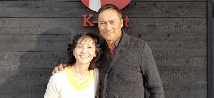 ▲南果步(左)與男星渡邊謙已正式離婚。(圖/翻攝南果步推特 , 2018.05.31)