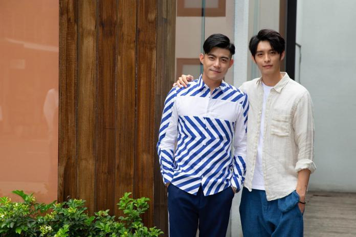 ▲王柏傑(左)、曹佑寧演出《人際關係事務所》。(圖/歐銻銻娛樂提供,2018.05.31)