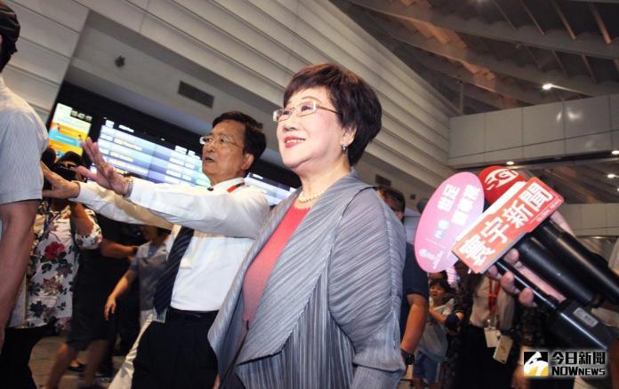 ▲呂秀蓮今晚自馬來西亞返台,直言:「昨晚開始,民進黨已經跟我沒有關係了!」(圖/記者李春台攝 , 2018.05.31)