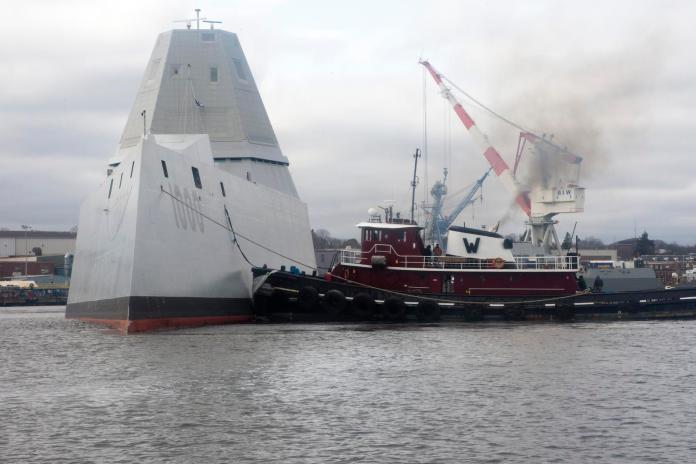 軍武》等待電磁砲 美海軍朱瓦特級艦暫不引進新彈藥