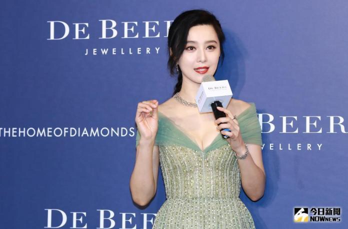 ▲范冰冰出席珠寶品牌活動。(圖/記者葉政勳攝 , 2018.03.28)