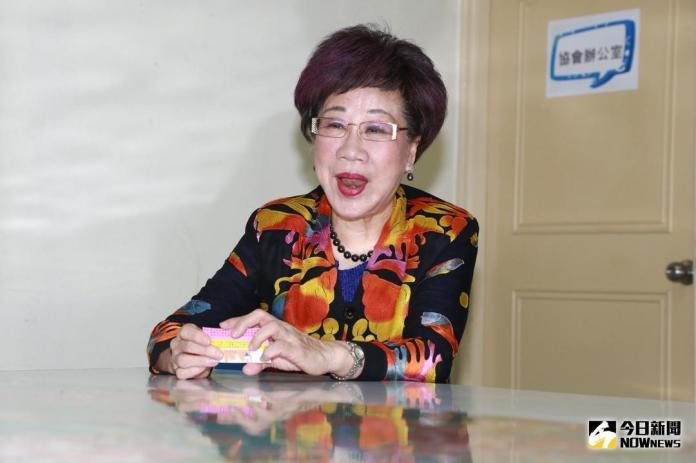▲前副總統呂秀蓮返國,確定與民進黨分道揚鑣。(資料照片/記者葉政勳攝)