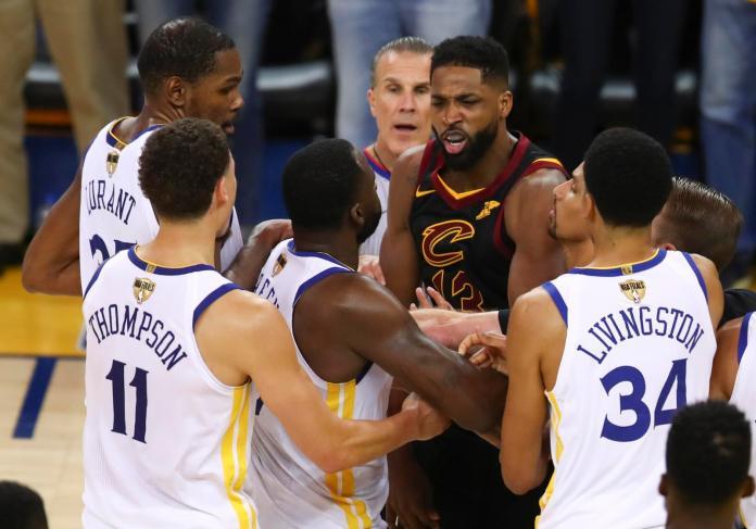 NBA/降為一級惡意犯規 湯普森可能不必被禁賽
