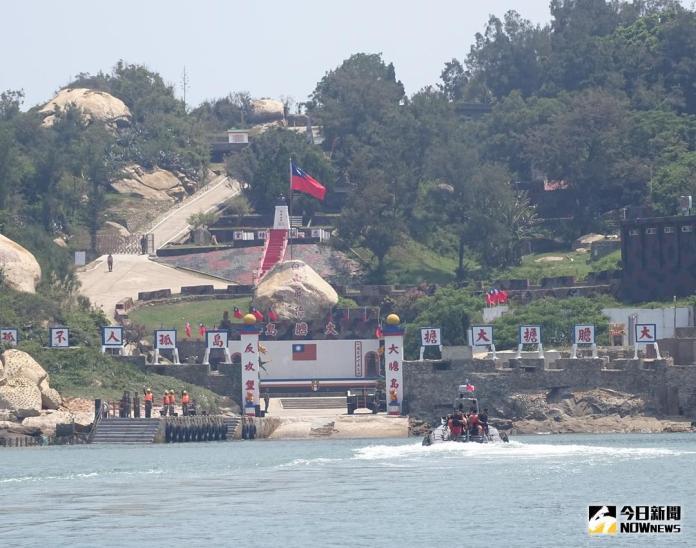 ▲金門縣政府向國防部爭取多年,「大膽島」在7月26日開放觀光。(圖/記者呂炯昌攝)