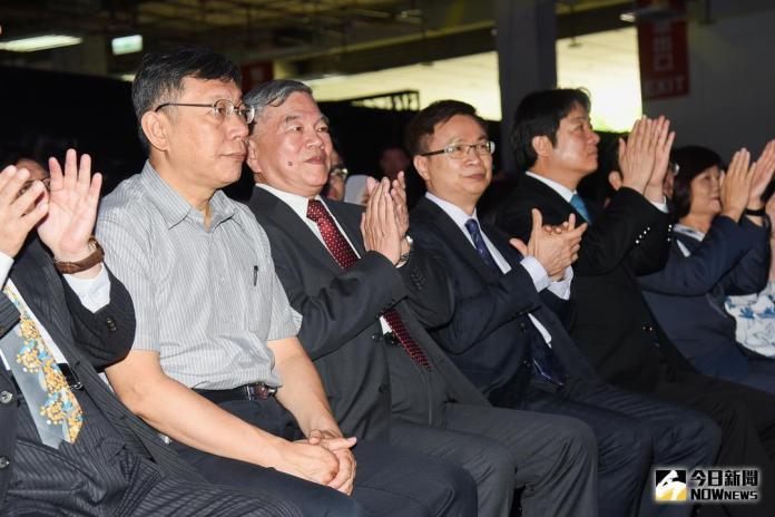 ▲台北市長柯文哲參加 InnoVEX2018 開幕式。(圖/記者陳明安攝,2018.06.06)