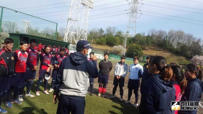 ▲中華女壘練習照。(圖/體育署提供)