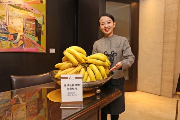 力挺台灣水果 旅客搭機、入住飯店香蕉吃到飽