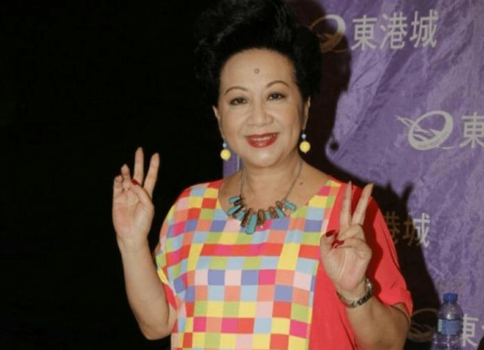 ▲香港資深演員薛家燕。(圖/翻攝薛家燕微博 , 2018.06.15)