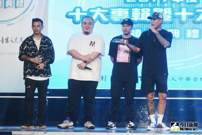 ▲頑童MJ116以專輯《幹大事》獲得年度十大專輯獎。(圖/記者陳明安攝 , 2018.06.20)