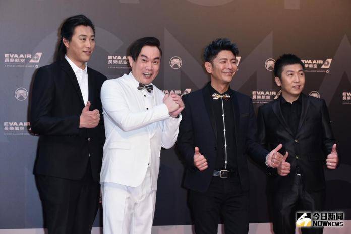 ▲荒山亮(右2)入圍《最佳台語男歌手》。(圖/NOWnews攝影中心,2018.06.23)