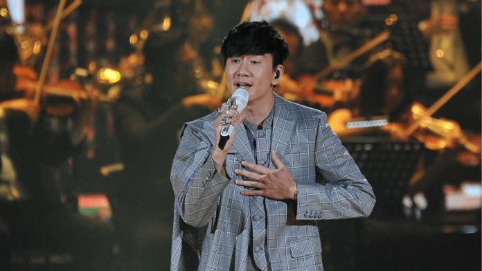 ▲林俊傑擔任典禮壓軸表演者。(圖/台視 , 2018.6.23)