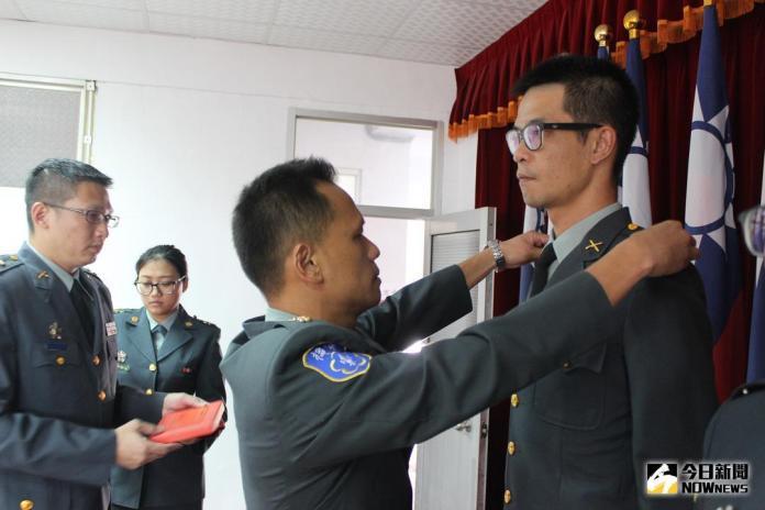 彰化後備部 107年下半年晉任授階典禮