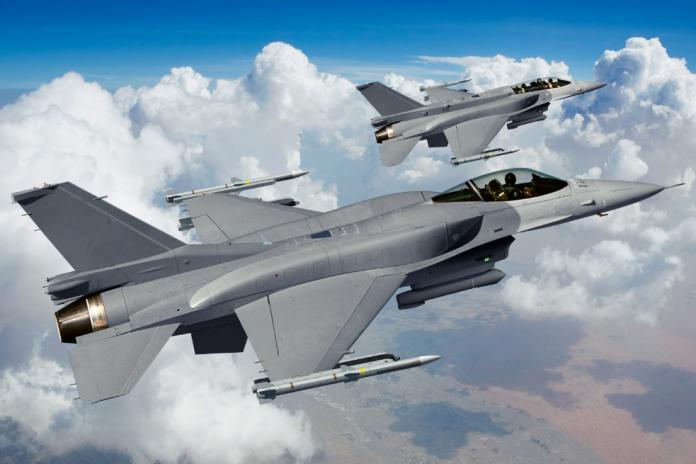 ▲洛克希德馬丁生產的F-16V戰機。(圖/洛克希德馬丁官網 )