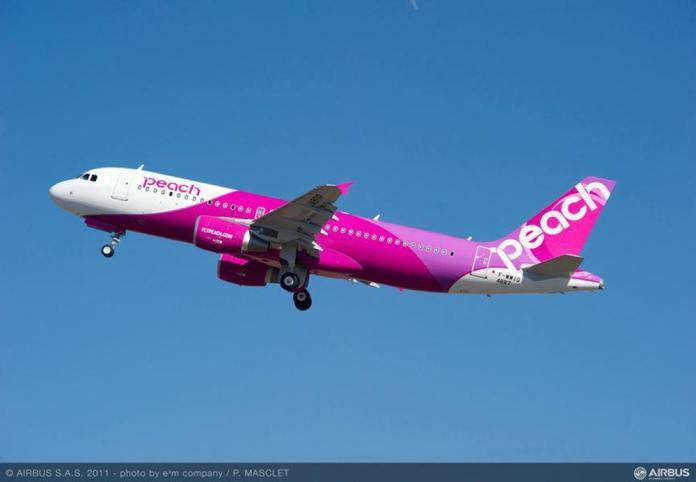 樂桃重啟國際航班 10月下旬復飛<b>大阪</b>東京