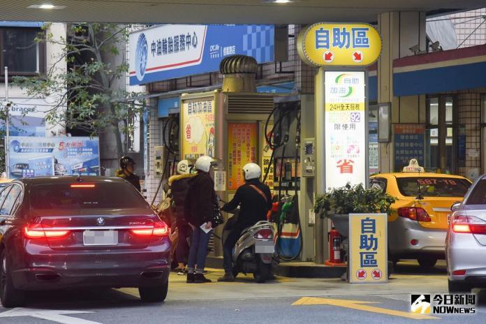 ▲ 中油加油站 。(圖/記者陳明安攝,2018.03.23)